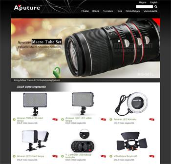 Aputure a minőségi fényképezőgép tartozékok gyártója